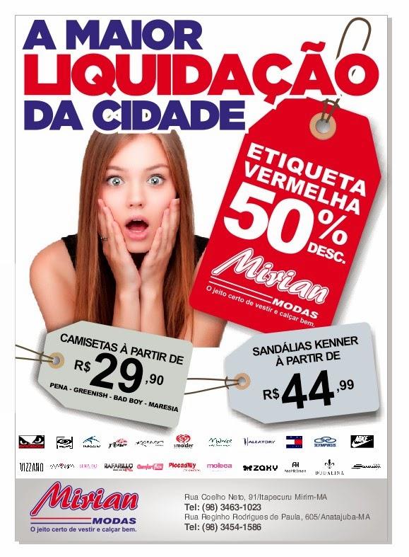 MIRIAN MODAS DE ITAPECURU-MIRIM/MA