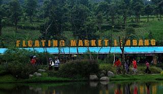 FLOATING MARKET LEMBANG : Pasar terapung di tengah kota