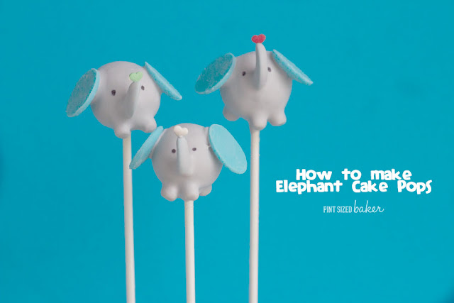 Learn how to make these easy and adorable elephant cake pops! The kids loved them!!