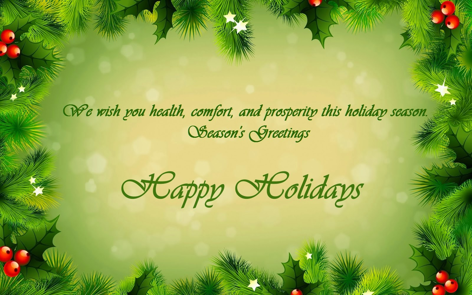 Happy Holidays Greetings Images Merry Christmas Images