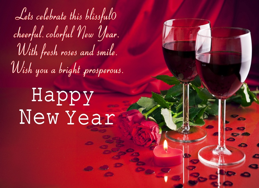 New Year Greeting for Love