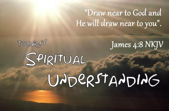 TODAY'S SPIRITUAL UNDERSTANDING