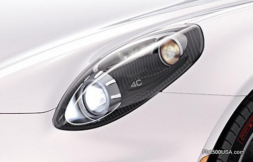 Alfa Romeo 4C Spider Headlight
