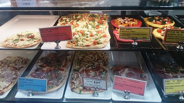 Pizza By Nature, Queen Vic Market, Melbourne, Pizza, Vegetarian, Gluten Free