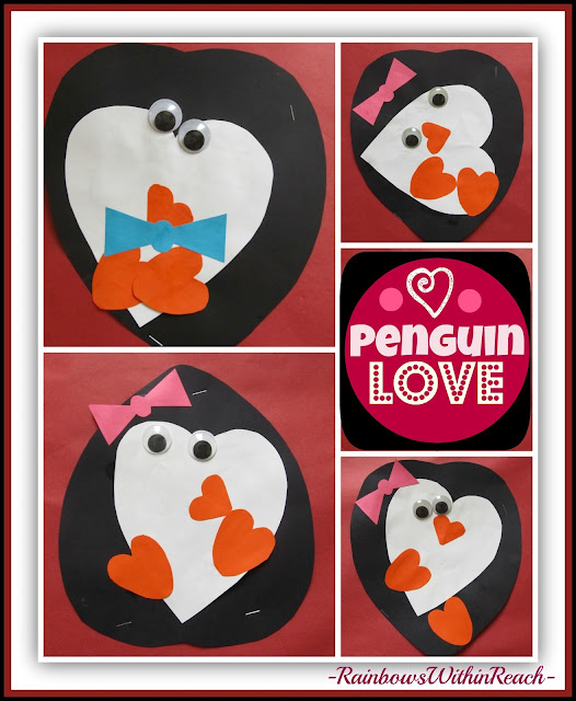 photo of: Penguin Valentine Project via RainbowsWithinReach