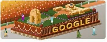 Google Doodle - Republic Day Special