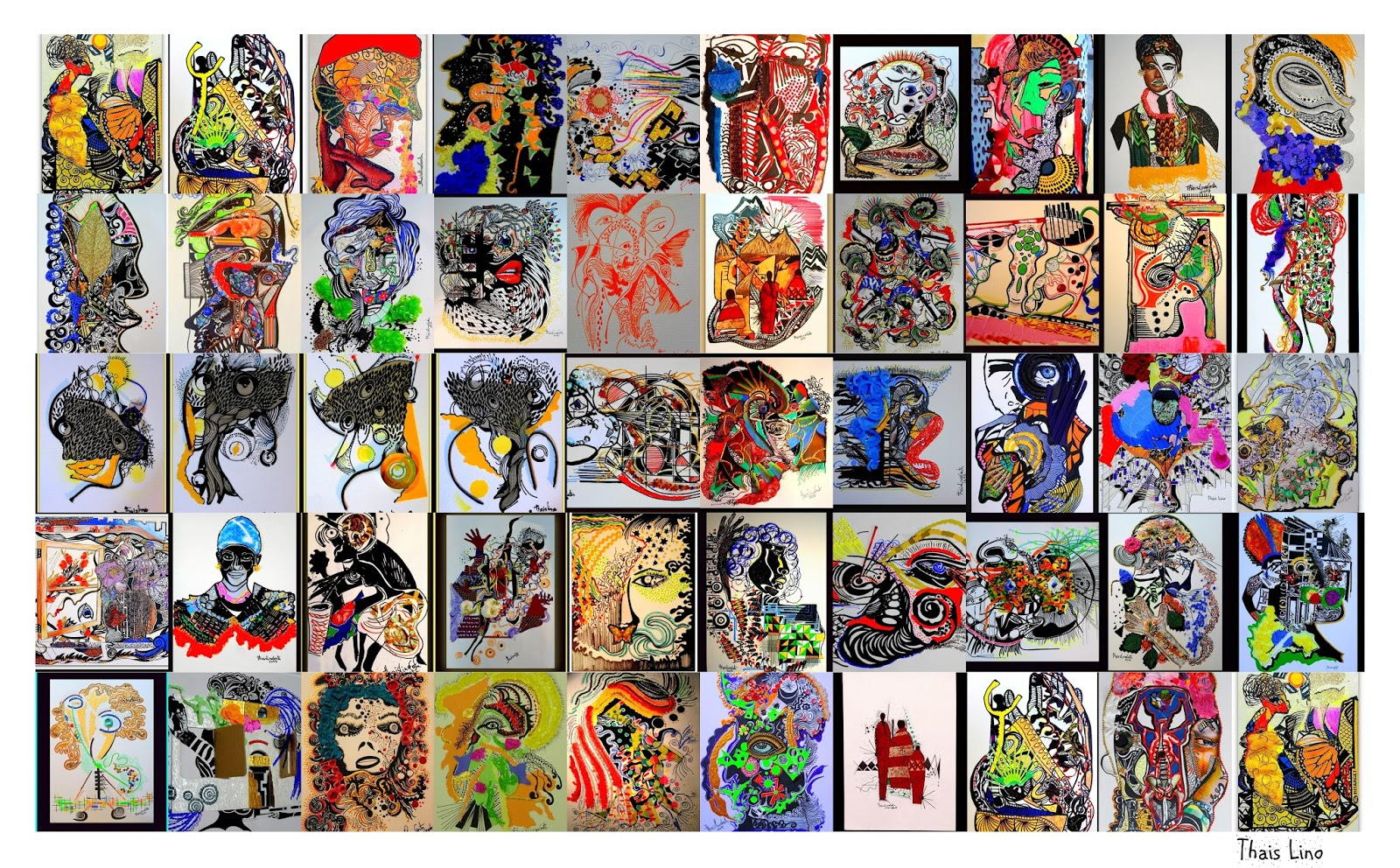 Thais Lino – Uma artista que sente e vive a arte!