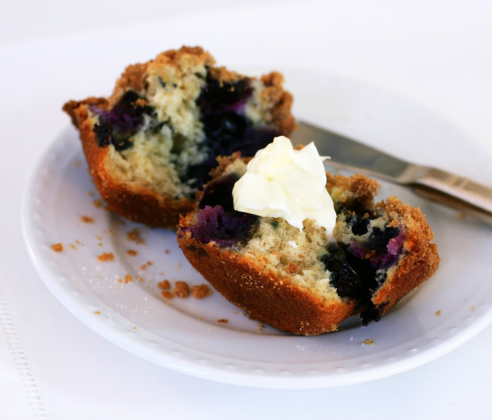 Tish Boyle Sweet Dreams: Blueberry Lemon Buttermilk Muffins