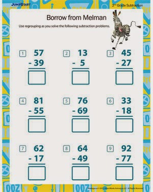 2nd Grade 2nd grade math subtraction worksheets : Subtraction Worksheets » Subtraction Worksheets For Second Graders ...