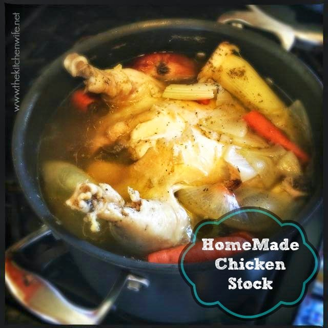 Homemade Chicken Stock - ~The Kitchen Wife~