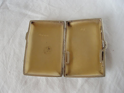 CARD/CIG CASE, STERLING SILVER, BIRMINGHAM 1919