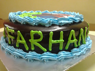 Birthday Cake With Name Farhan