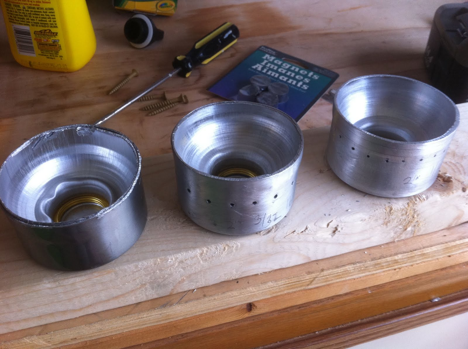 Running in circles for fun diy alcohol backpacking stove for How to make a homemade stove