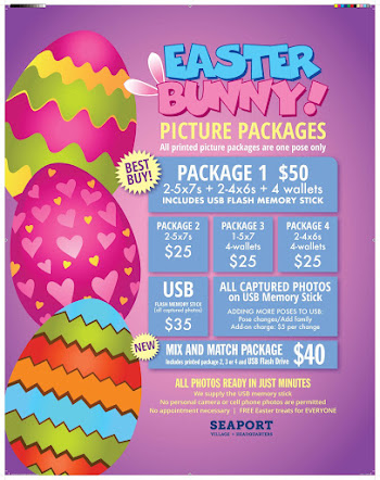 2018 EASTER BUNNY PHOTO PACKAGES