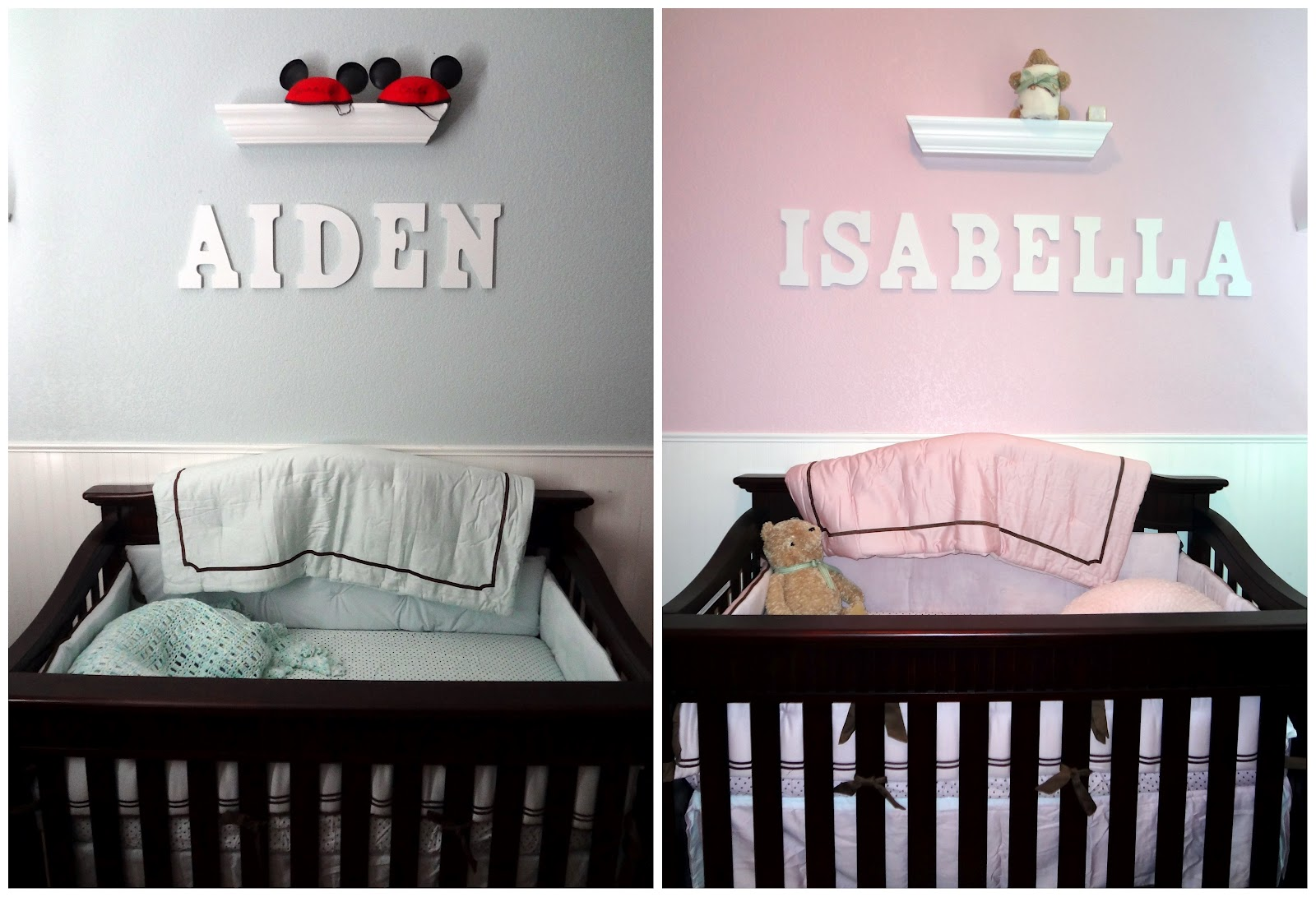 The Howard Bunch: The Twins' Nursery