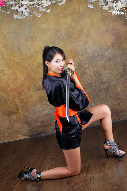 7 Cha Sun Hwa - Samurai Girl-very cute asian girl-girlcute4u.blogspot.com