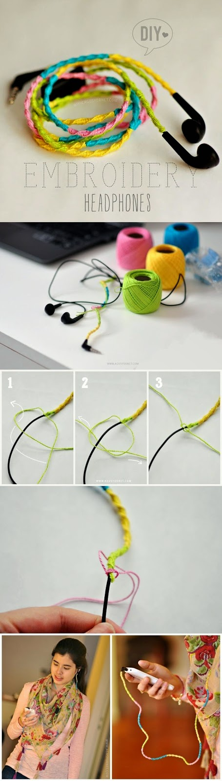 Embroidery Diy Tutorial Step By Step #6.