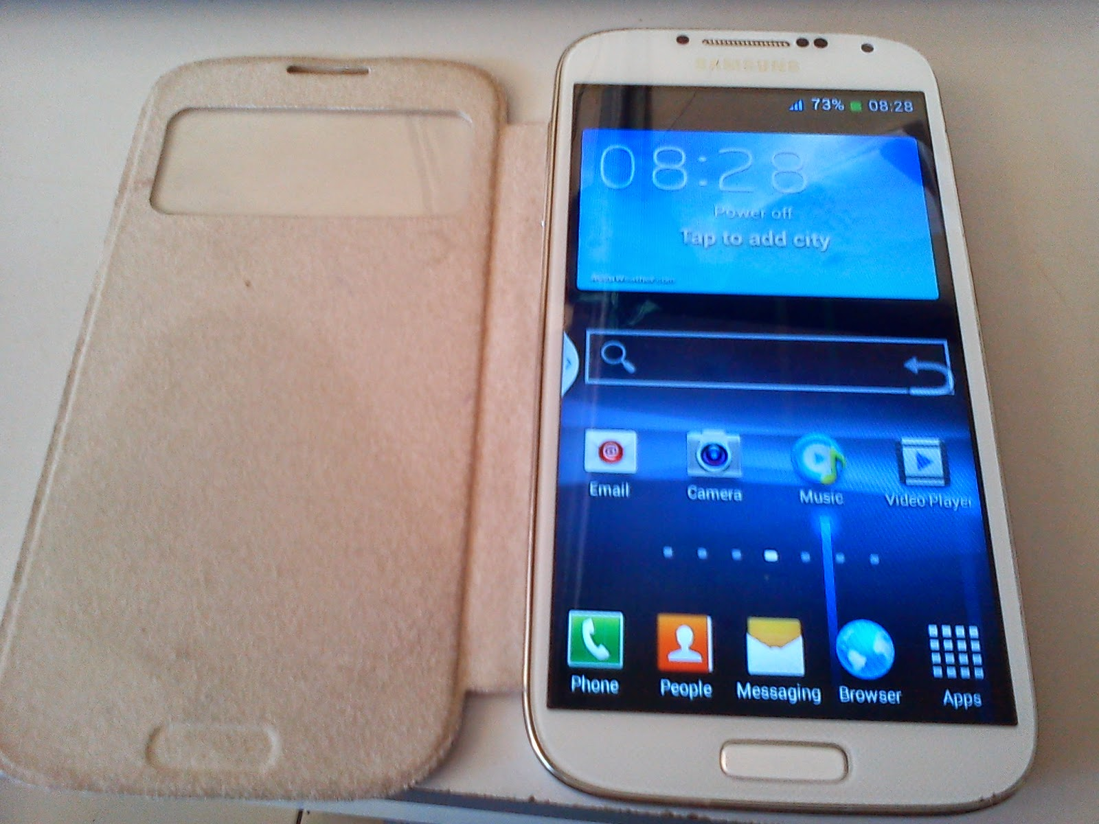 Contoh Kerusakan Samsung Galaxy S4