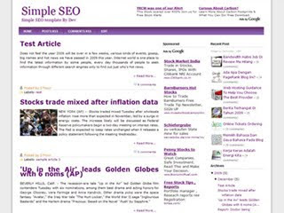 download template seo friendly