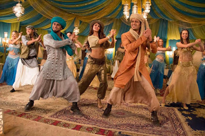Jacqueline Fernandis and Reitish at Bangistan Ishq Karenge Song photos