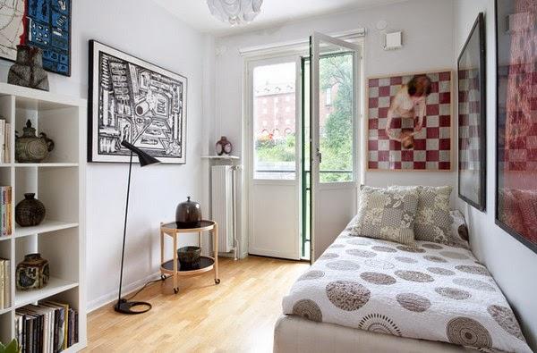 Desain Kamar Tidur Sempit Minimalis Sederhana