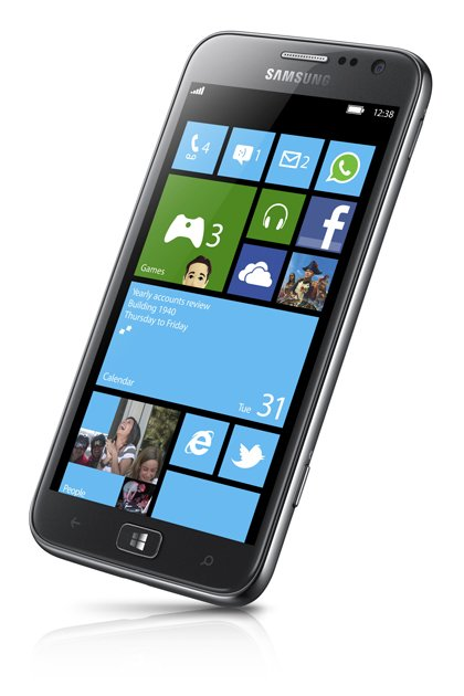 Samsung first Windows 8 phone