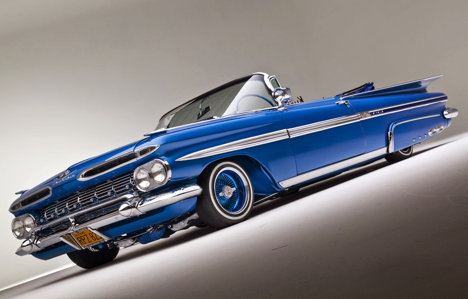 Drop Top Challenger >> Classic American Cars: Low Riders