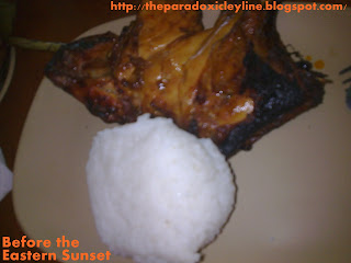 Mang Inasal barbecued chicken with rice