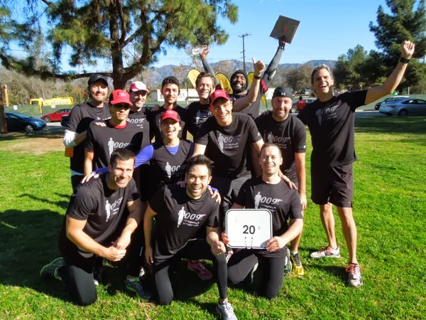 T2: Team to End AIDS 009ers LA Marathon pace group