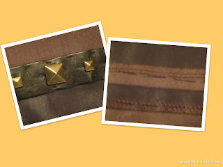 Laminated Ponte Dress