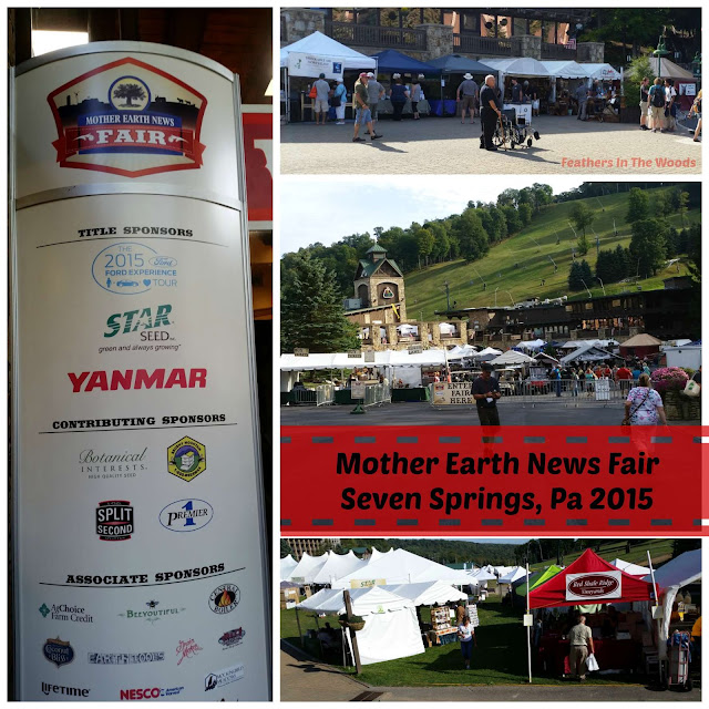 Mother Earth News Fair, Seven Springs Pa 2015