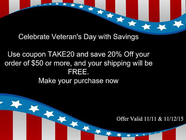 Avon Veteran's Day Coupon Code