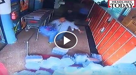 Satu Lagi Rakaman CCTV Kejadian Gempa Nepal