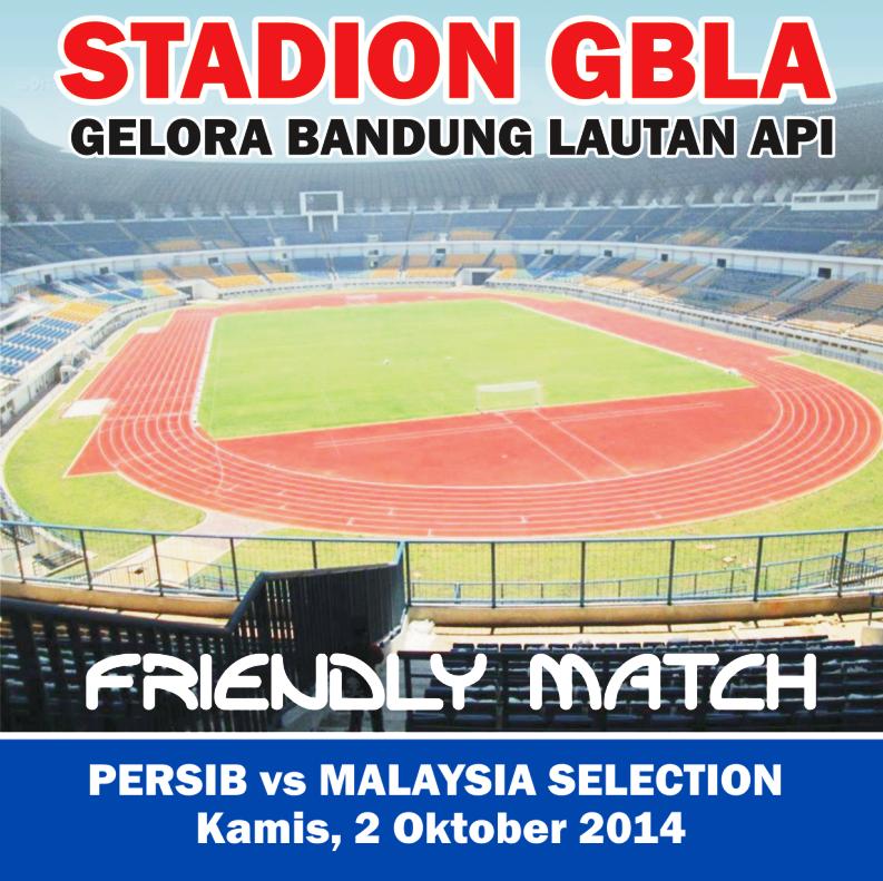 Tiket Persib vs Malaysia Selection Habis