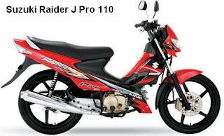 Suzuki Raider J Pro 110