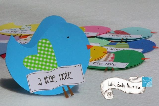 litte birdie notecards