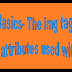 HTML Basics-The img tag-usage and attributes used with it