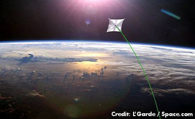 NASA to Launch World's Largest Solar Sail in 2014 (Edt 400 px)