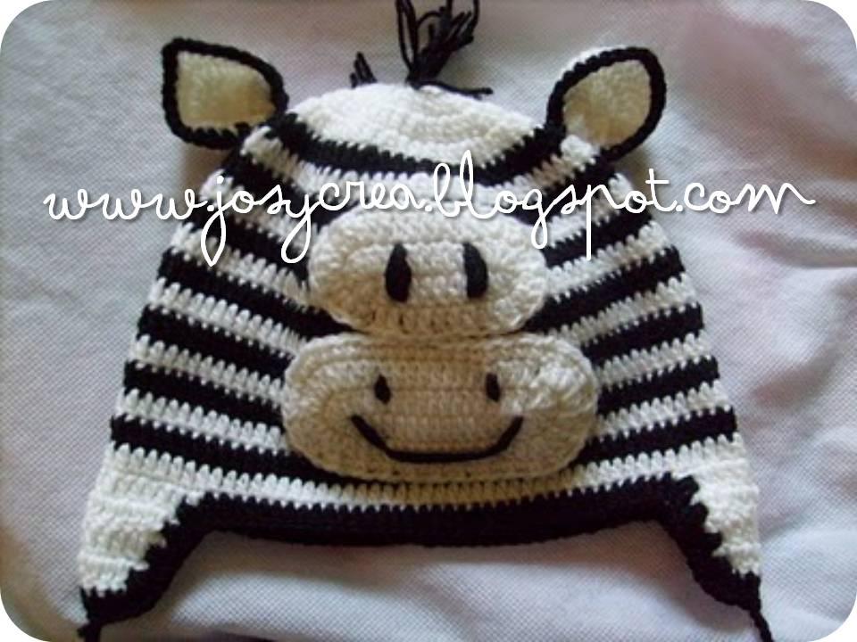 JosyCrea .。.:* Tejido a Crochet y Más!: Gorritos animales
