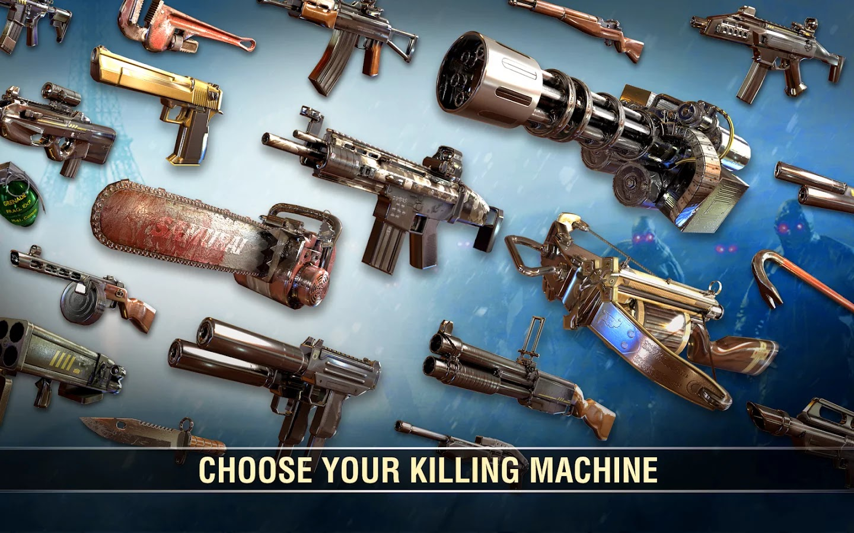 DEAD TRIGGER 2 v0.08.0 Mod [Unlimited Ammo]