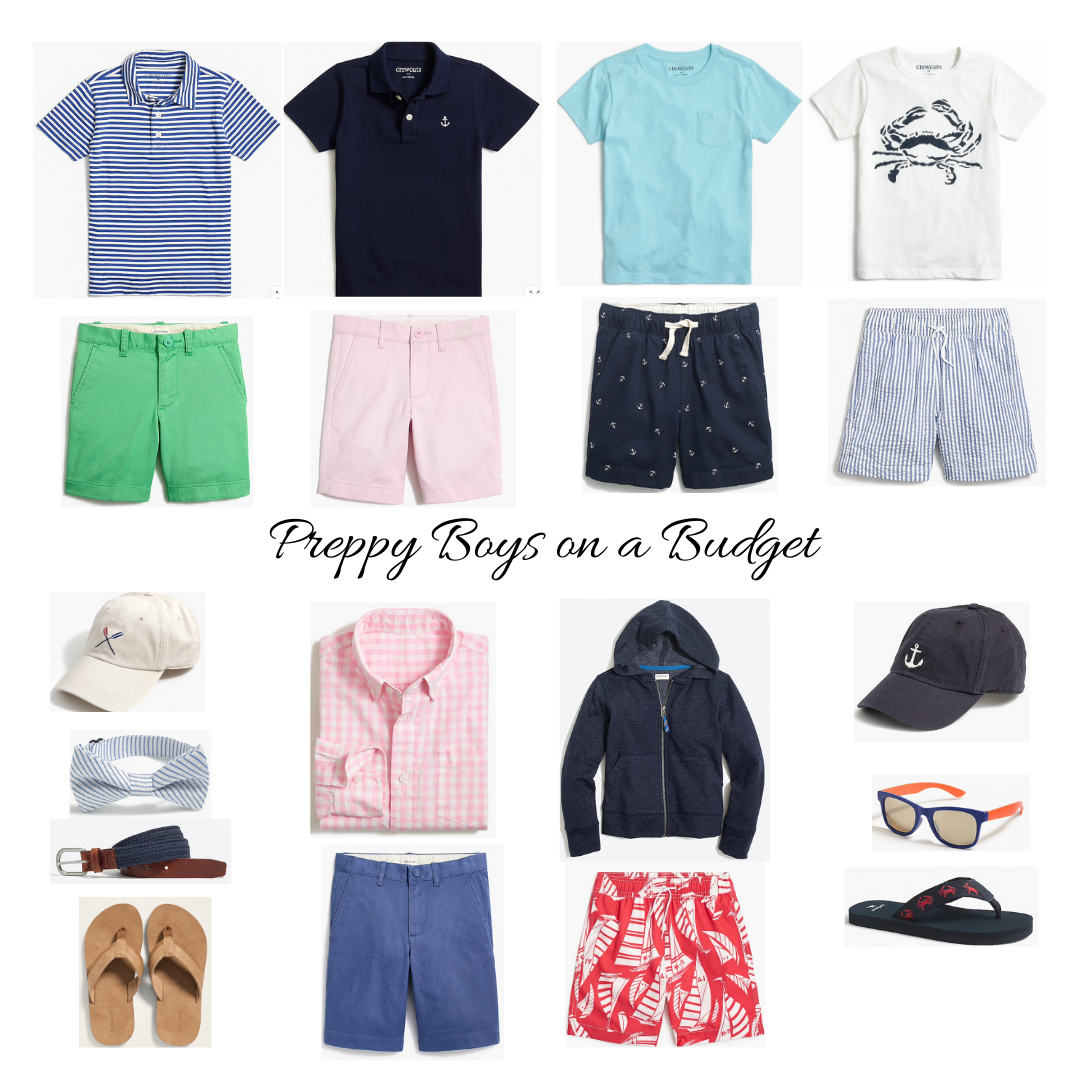 Preppy Boys Clothes on a Budget