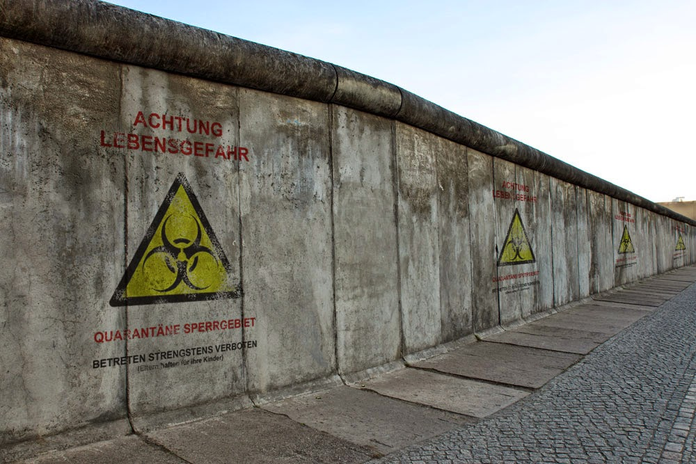 Great Wall of Berlin seeks to reduce measles epidemic