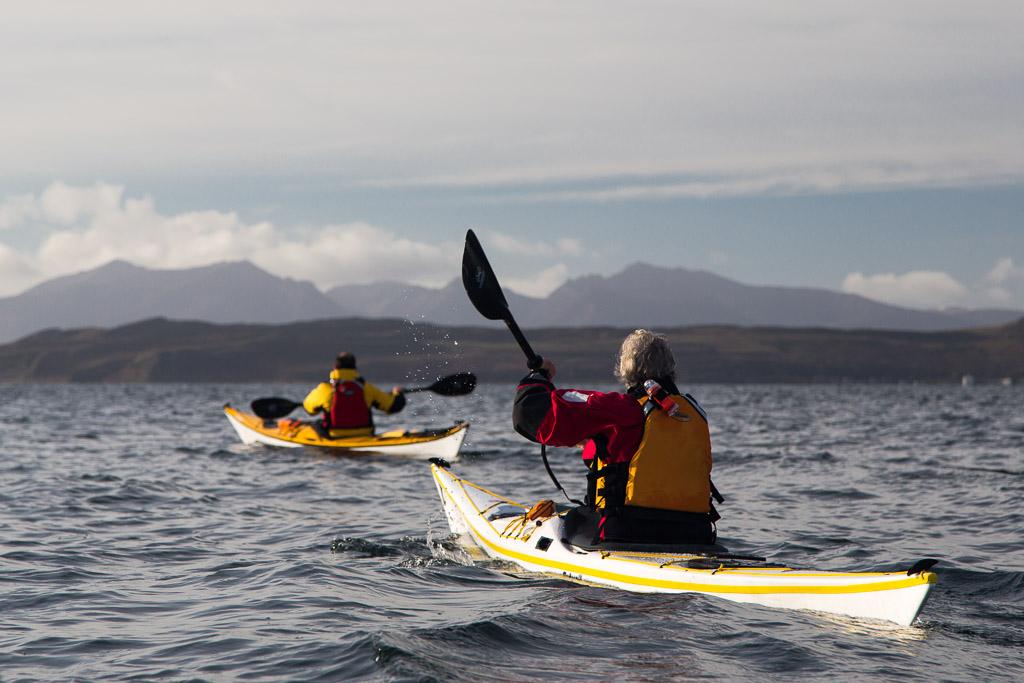 Sea kayaking with seakayakphoto.com: Carbon foot print on