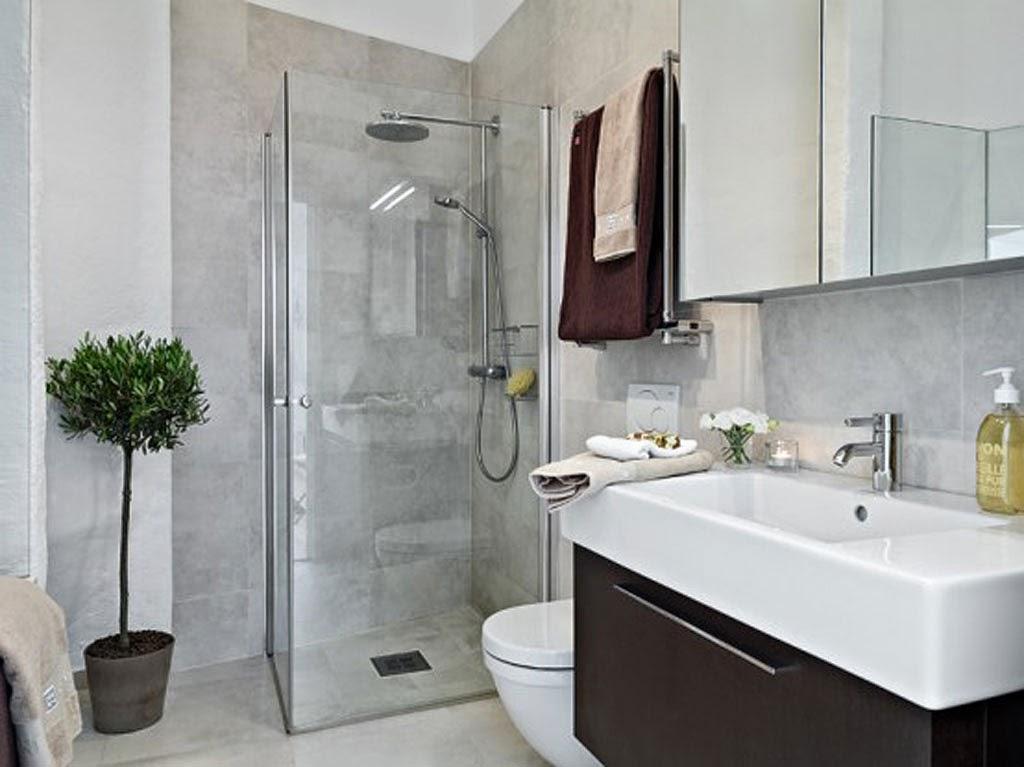 Model kamar mandi minimalis 2