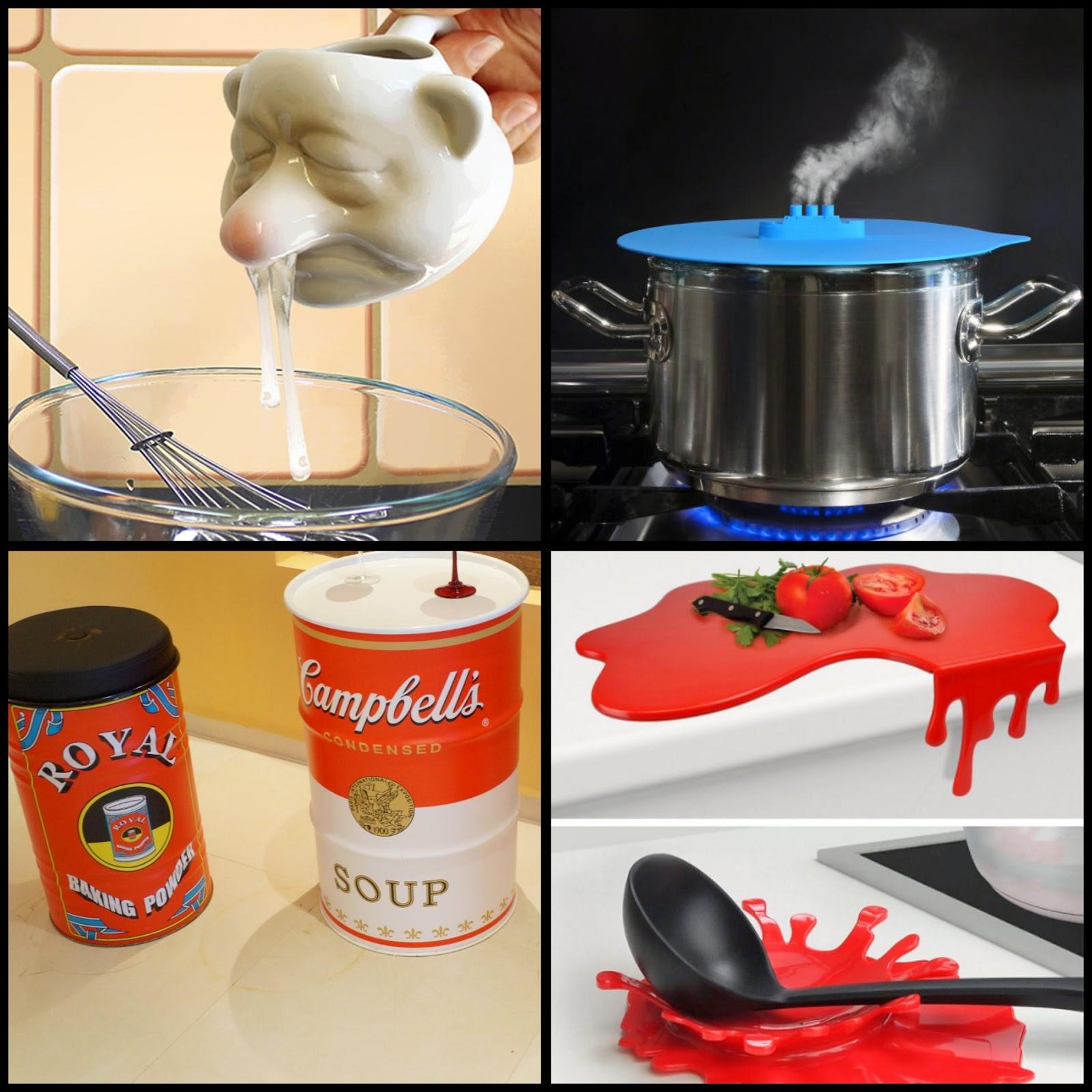 utensílios de cozinha irreverentes