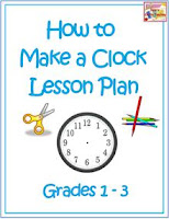 Clock making craft for kids