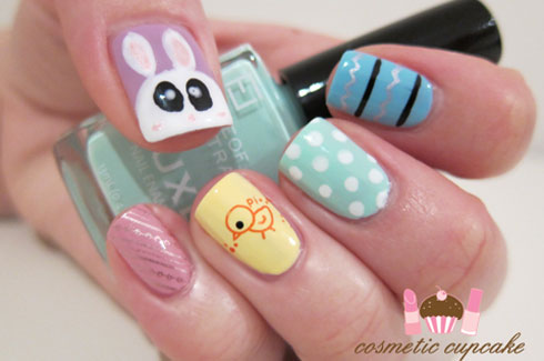 Cute easy nail designs for