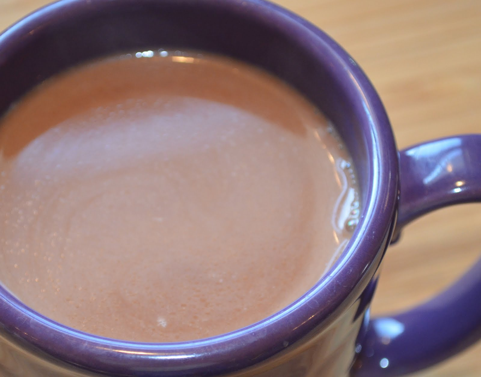 Homemade Hot Chocolate with just 2 Ingredients