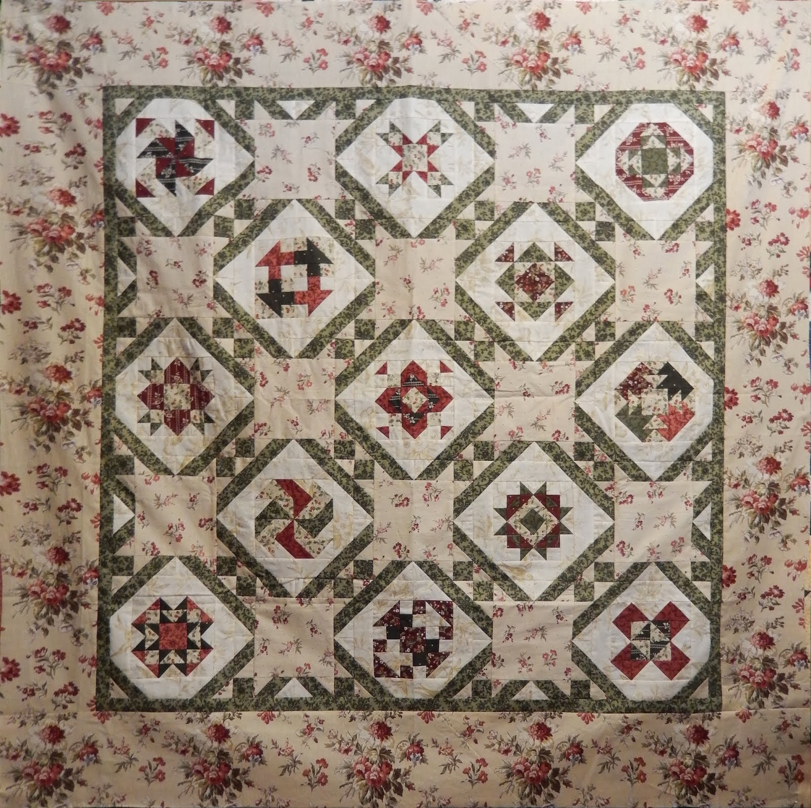 Blogger Girls Block of the Month II - Free Quilt Along
