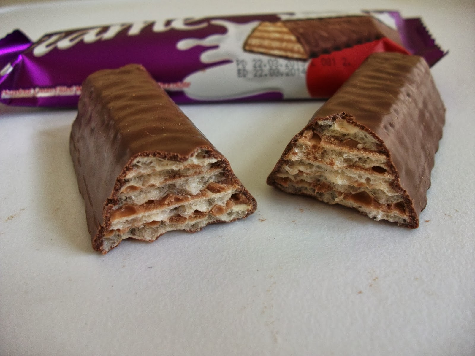 Chocolate-Nut Wafers Recipe — Dishmaps